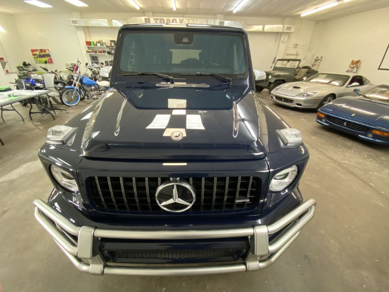 Used 2020 Mercedes-Benz G-Class AMG G63 4D SUV for sale Sold at Track and Field Motors in Safety Harbor FL 34695 2