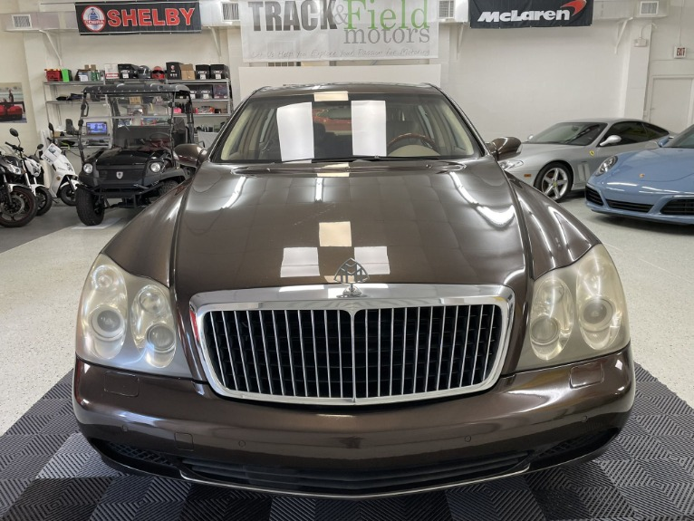 Used 2004 Maybach 62 Limo for sale $54,997 at Track and Field Motors in Safety Harbor FL 34695 2