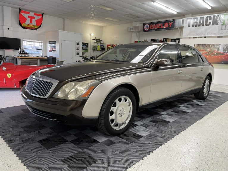 Used 2004 Maybach 62 Limo for sale $54,997 at Track and Field Motors in Safety Harbor FL 34695 3
