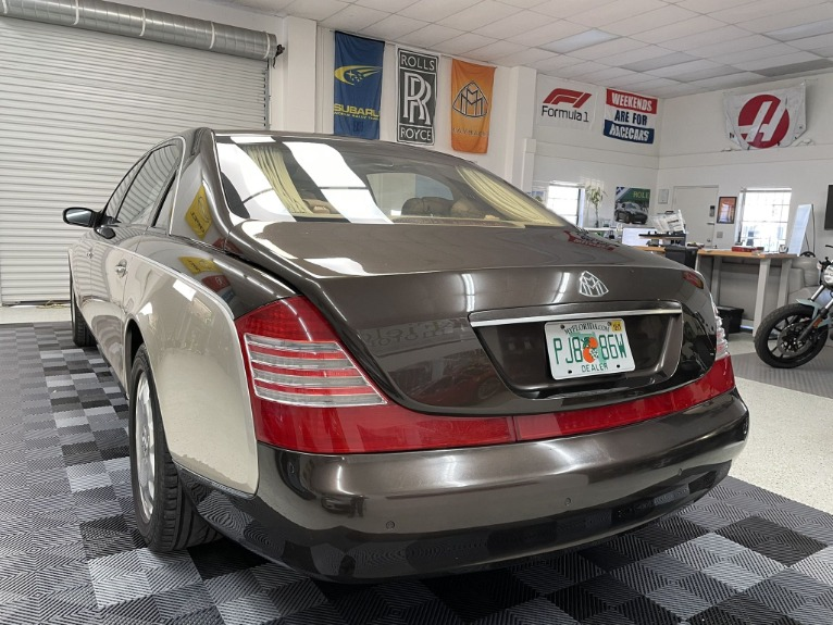Used 2004 Maybach 62 Limo for sale $54,997 at Track and Field Motors in Safety Harbor FL 34695 5