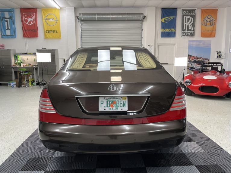Used 2004 Maybach 62 Limo for sale $54,997 at Track and Field Motors in Safety Harbor FL 34695 6