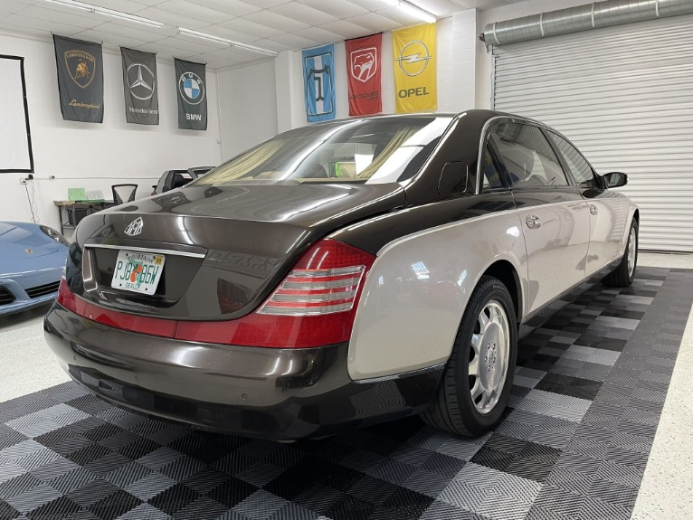 Used 2004 Maybach 62 Limo for sale $54,997 at Track and Field Motors in Safety Harbor FL 34695 7