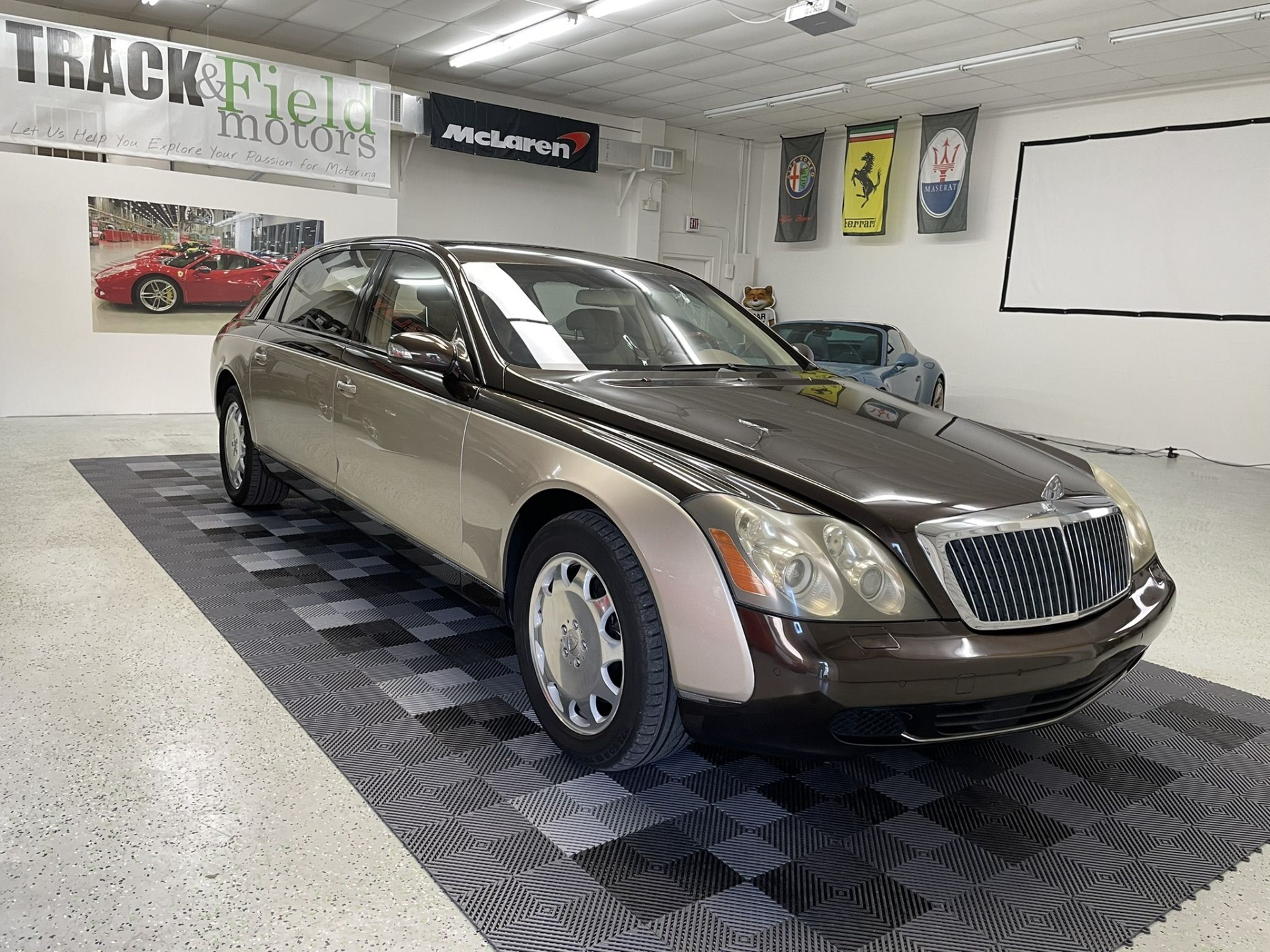 Used 2004 Maybach 62 Limo for sale $54,997 at Track and Field Motors in Safety Harbor FL 34695 1
