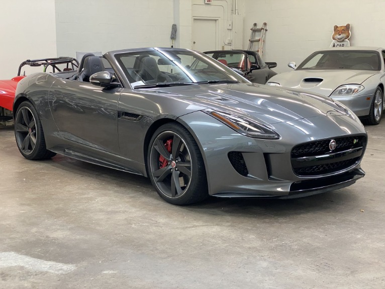 Used 2016 Jaguar F-TYPE R Convertible 2D for sale Sold at Track and Field Motors in Safety Harbor FL 34695 2