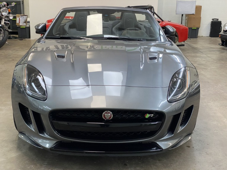 Used 2016 Jaguar F-TYPE R Convertible 2D for sale Sold at Track and Field Motors in Safety Harbor FL 34695 3