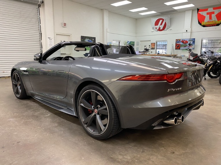 Used 2016 Jaguar F-TYPE R Convertible 2D for sale Sold at Track and Field Motors in Safety Harbor FL 34695 5