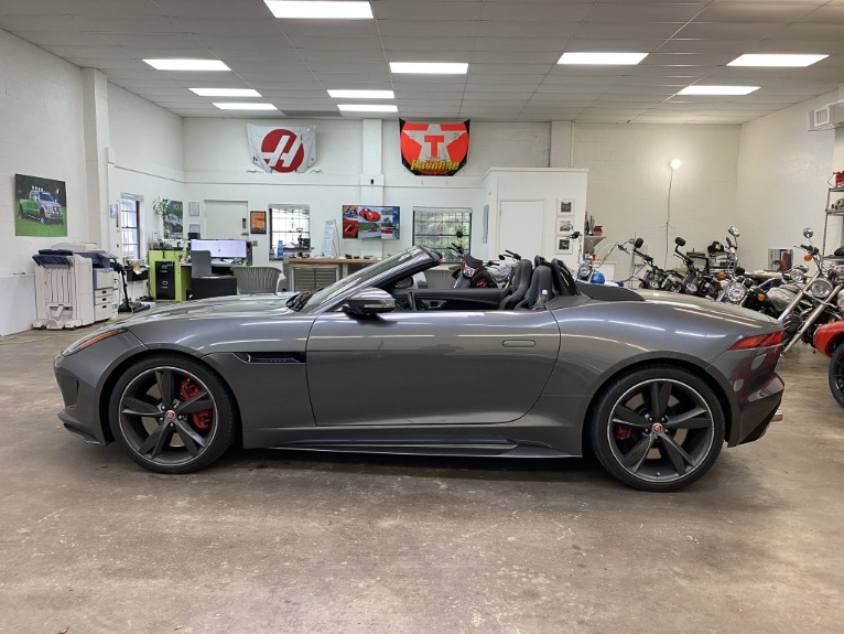 Used 2016 Jaguar F-TYPE R Convertible 2D for sale Sold at Track and Field Motors in Safety Harbor FL 34695 6