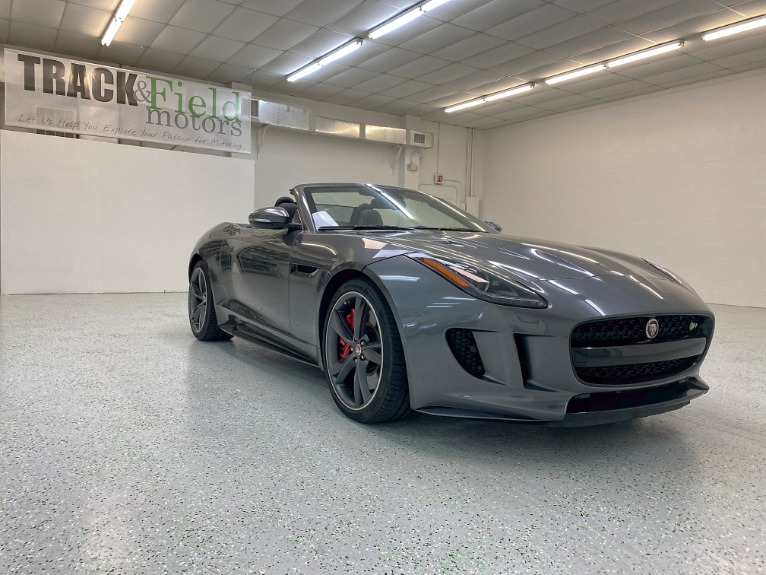 Used 2016 Jaguar F-TYPE R Convertible 2D for sale Sold at Track and Field Motors in Safety Harbor FL 34695 1