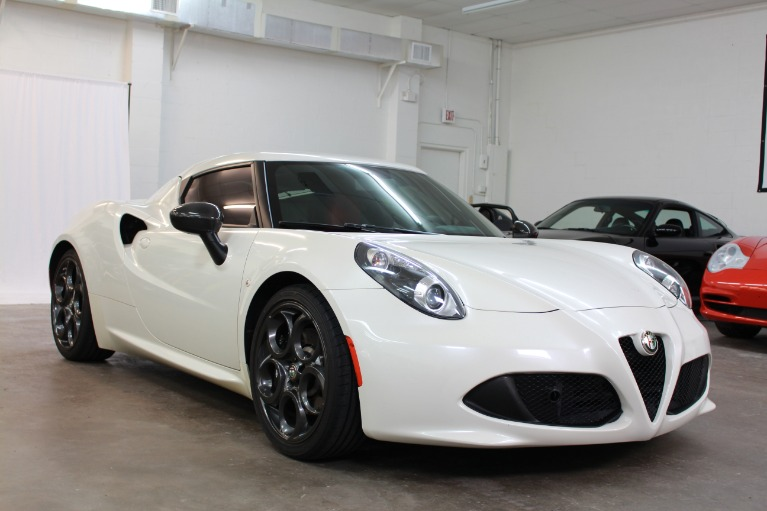 Used 2015 Alfa Romeo 4C Coupe 2D for sale Sold at Track and Field Motors in Safety Harbor FL 34695 2