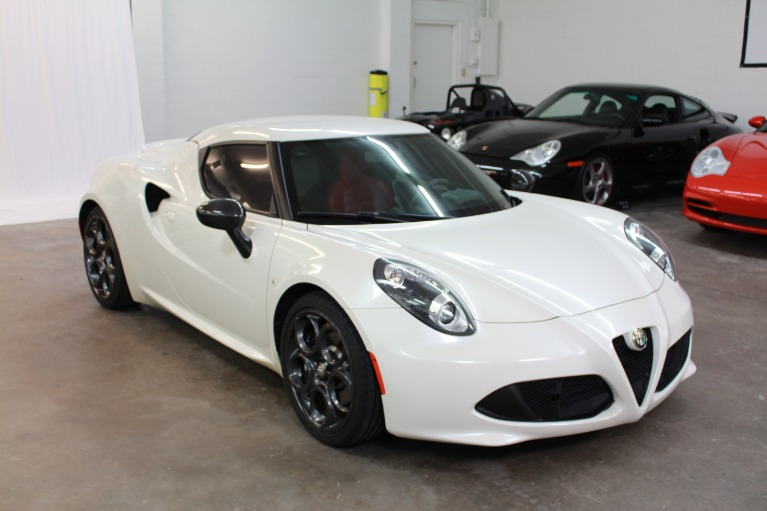 Used 2015 Alfa Romeo 4C Coupe 2D for sale Sold at Track and Field Motors in Safety Harbor FL 34695 3