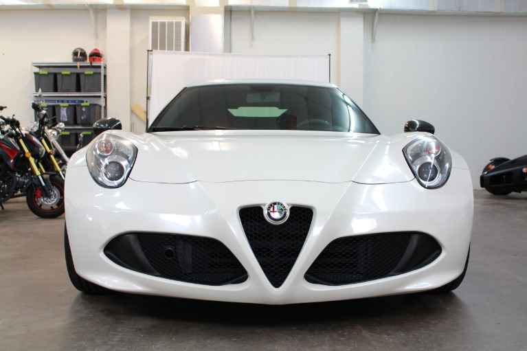 Used 2015 Alfa Romeo 4C Coupe 2D for sale Sold at Track and Field Motors in Safety Harbor FL 34695 4