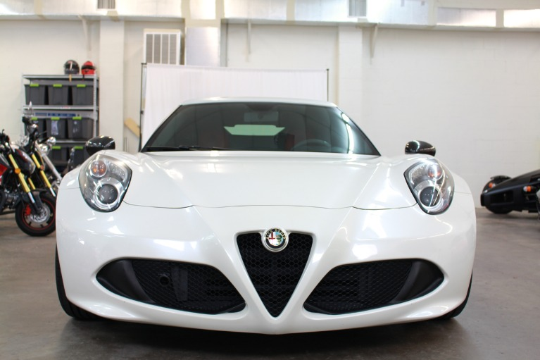 Used 2015 Alfa Romeo 4C Coupe 2D for sale Sold at Track and Field Motors in Safety Harbor FL 34695 5