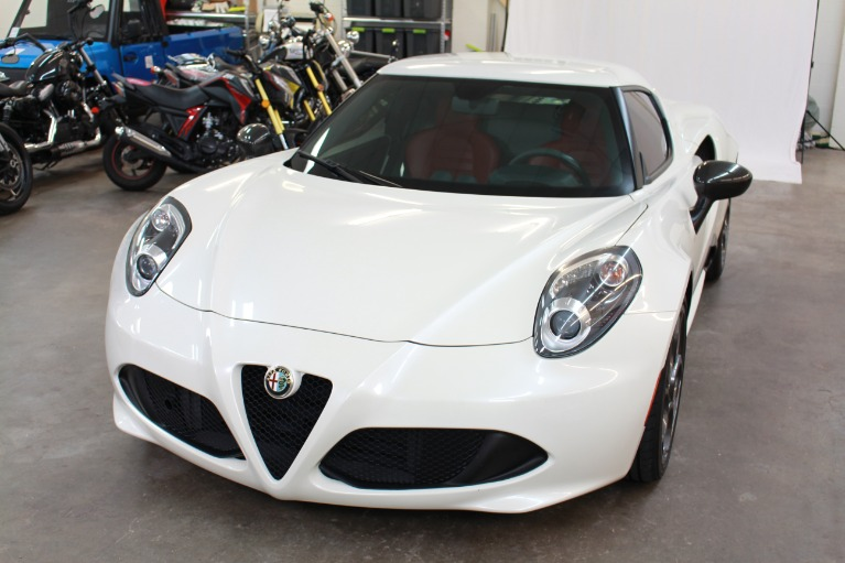 Used 2015 Alfa Romeo 4C Coupe 2D for sale Sold at Track and Field Motors in Safety Harbor FL 34695 6