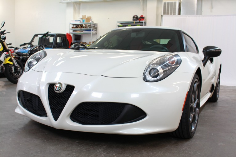 Used 2015 Alfa Romeo 4C Coupe 2D for sale Sold at Track and Field Motors in Safety Harbor FL 34695 7