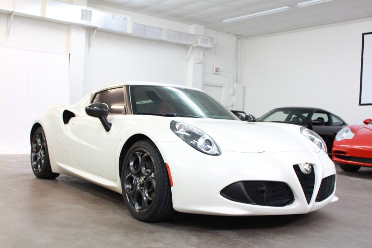 Used 2015 Alfa Romeo 4C Coupe 2D for sale Sold at Track and Field Motors in Safety Harbor FL 34695 1