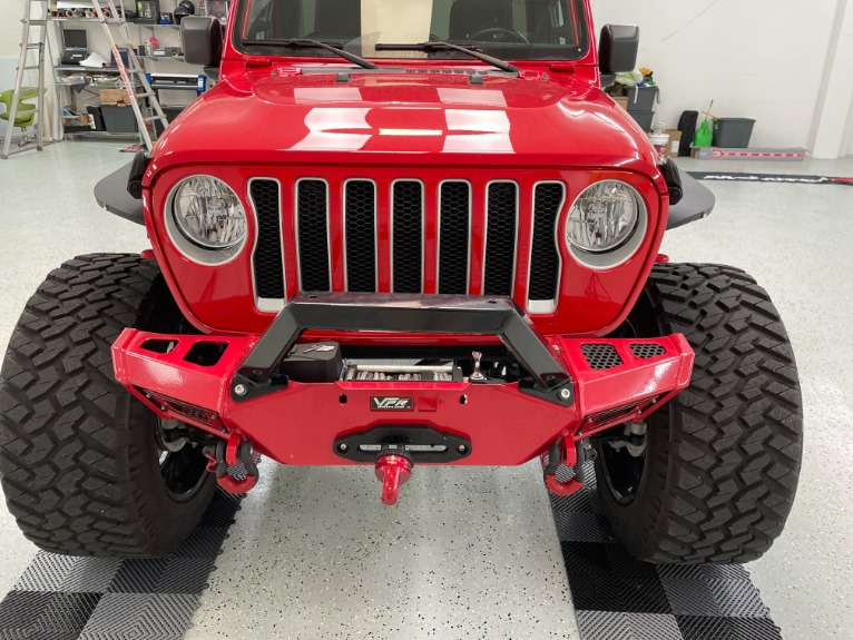 Used 2019 Jeep Wrangler Unlimited Sahara Sport Utility 4D for sale Sold at Track & Field Motors in Safety Harbor FL 34695 6
