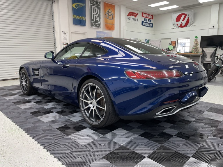 Used 2017 Mercedes-Benz Mercedes-AMG GT Coupe 2D for sale Sold at Track and Field Motors in Safety Harbor FL 34695 8