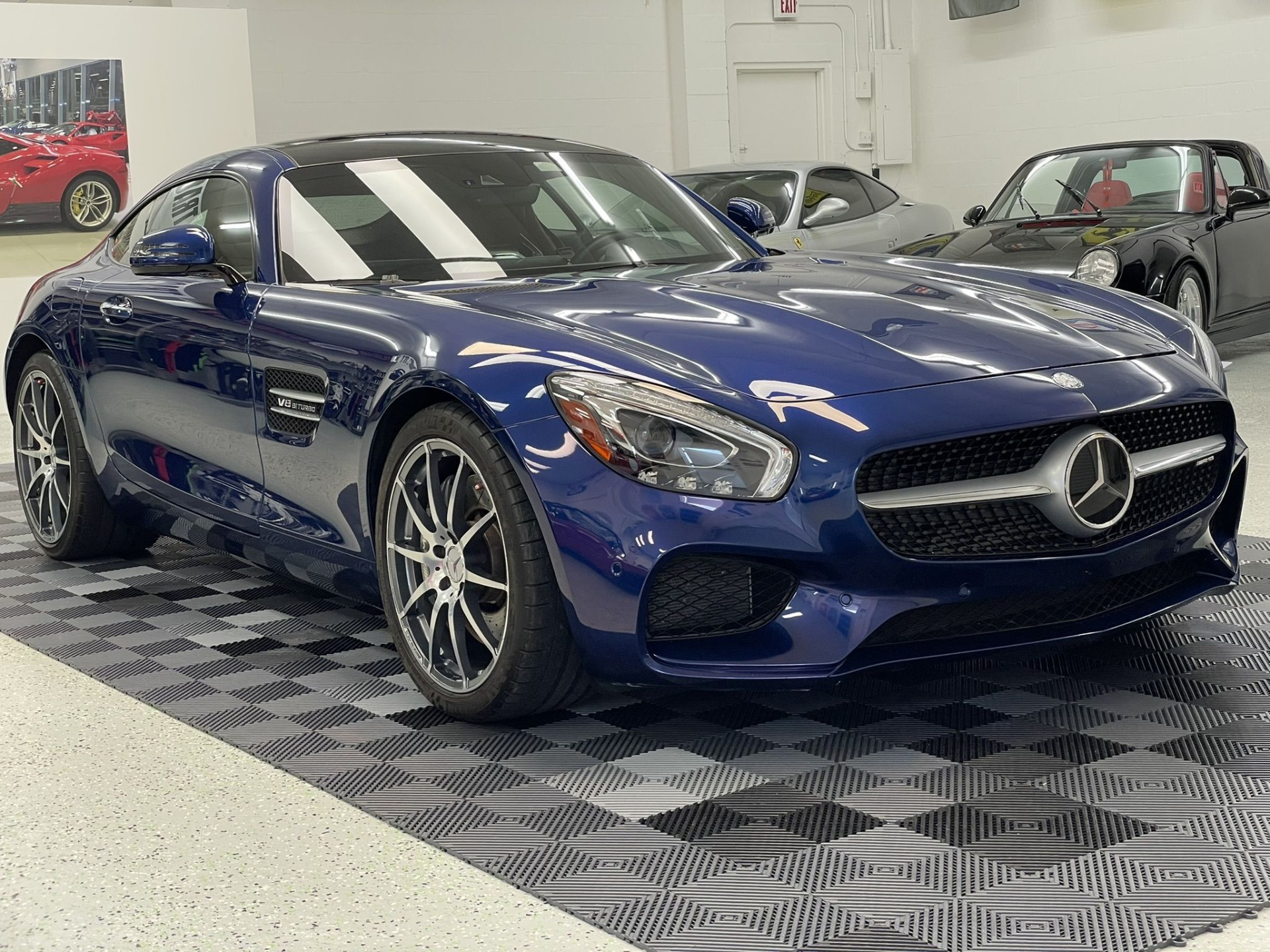 Used 2017 Mercedes-Benz Mercedes-AMG GT Coupe 2D for sale $72,497 at Track and Field Motors in Safety Harbor FL