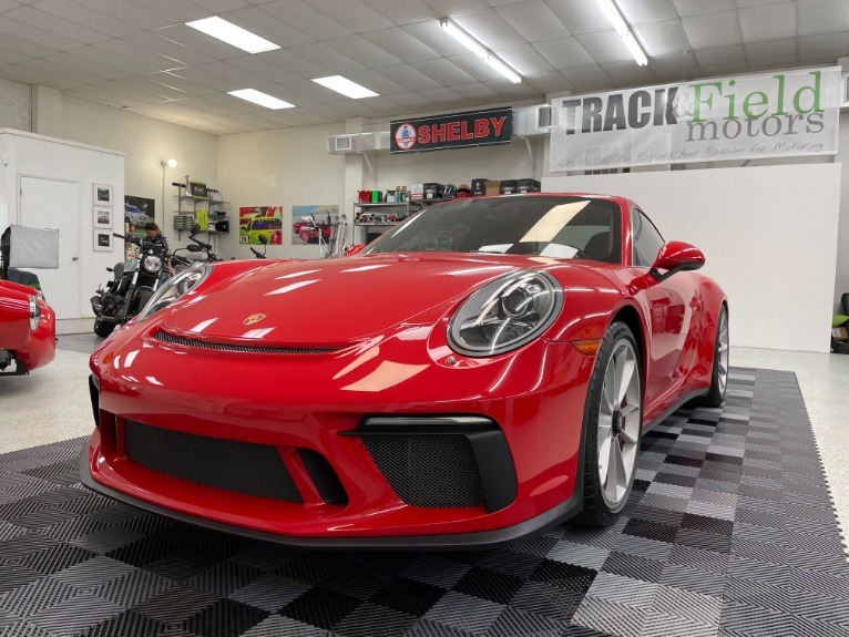 Used 2018 Porsche 911 GT3 Coupe 2D for sale $189,497 at Track and Field Motors in Safety Harbor FL 34695 3