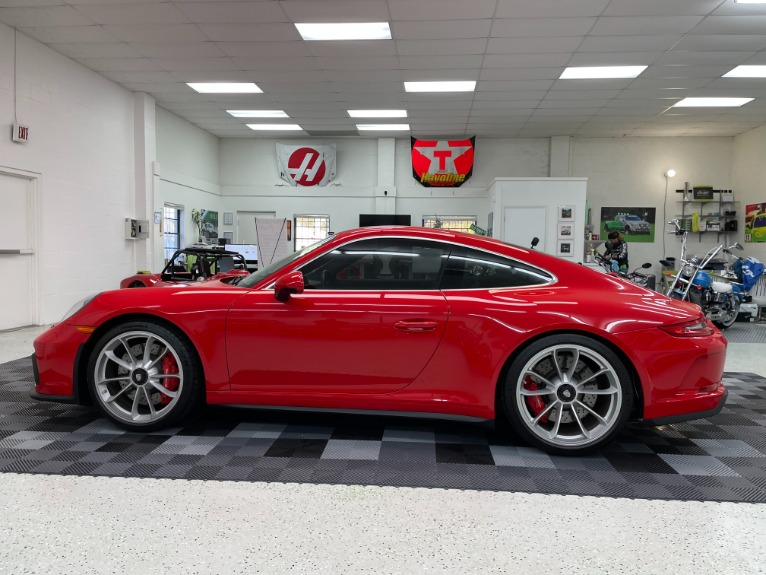 Used 2018 Porsche 911 GT3 Coupe 2D for sale $189,497 at Track and Field Motors in Safety Harbor FL 34695 4