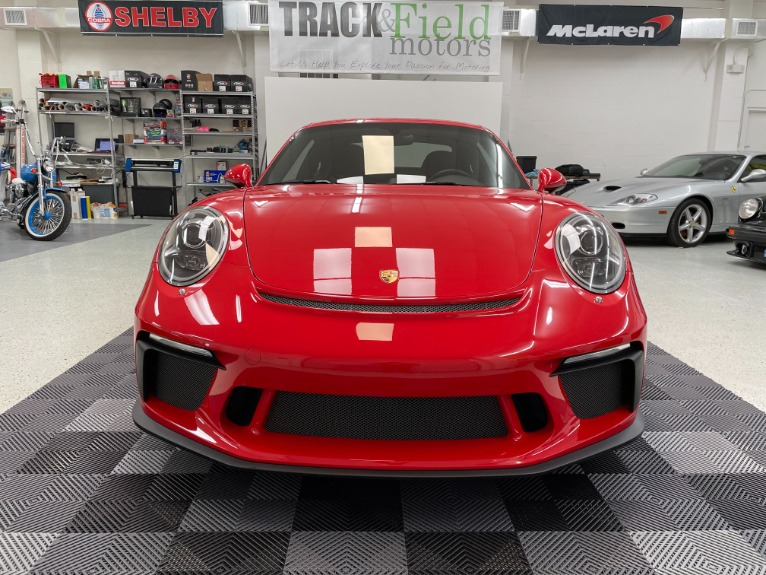 Used 2018 Porsche 911 GT3 Coupe 2D for sale $189,497 at Track and Field Motors in Safety Harbor FL 34695 8
