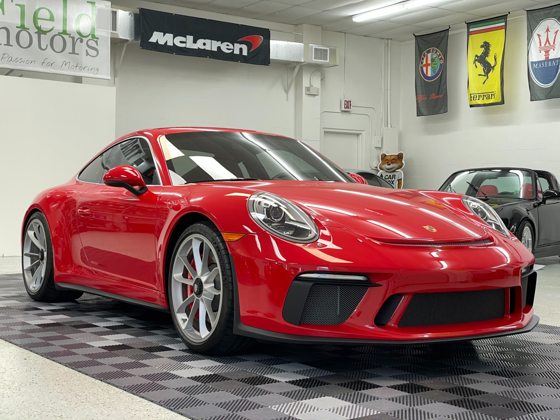 Used 2018 Porsche 911 GT3 Coupe 2D for sale $189,497 at Track and Field Motors in Safety Harbor FL