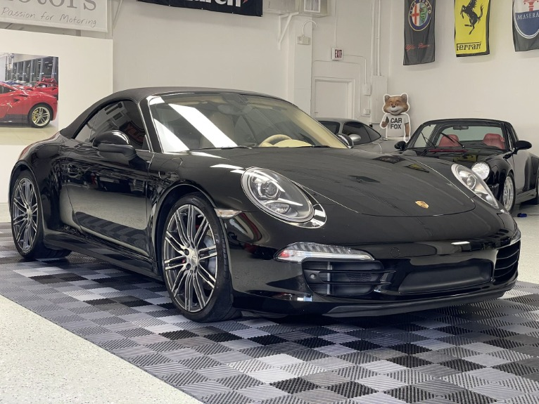 Used 2016 Porsche 911 Carrera 4S Cabriolet 2D for sale Call for price at Track and Field Motors in Safety Harbor FL 34695 2