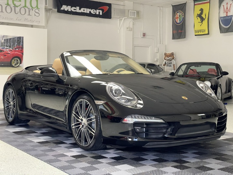 Used 2016 Porsche 911 Carrera 4S Cabriolet 2D for sale Call for price at Track and Field Motors in Safety Harbor FL 34695 1