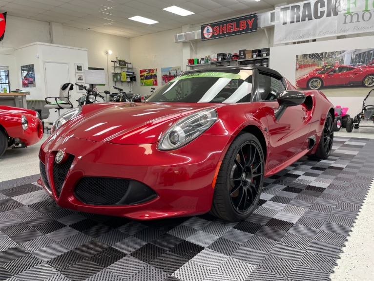 Used 2016 Alfa Romeo 4C Spider Convertible 2D for sale $52,497 at Track and Field Motors in Safety Harbor FL 34695 2
