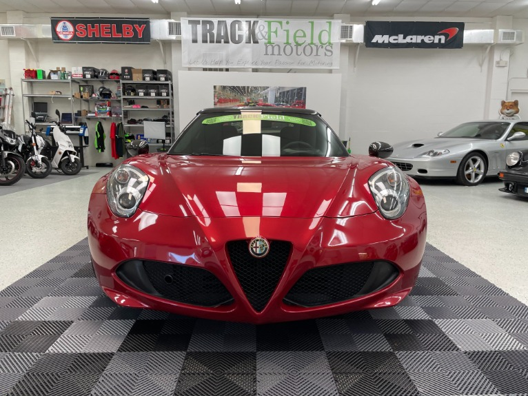 Used 2016 Alfa Romeo 4C Spider Convertible 2D for sale Sold at Track and Field Motors in Safety Harbor FL 34695 3