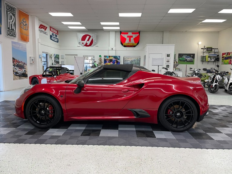Used 2016 Alfa Romeo 4C Spider Convertible 2D for sale Sold at Track and Field Motors in Safety Harbor FL 34695 8