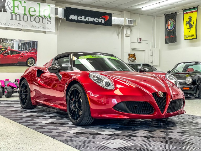 Used 2016 Alfa Romeo 4C Spider Convertible 2D for sale $52,497 at Track and Field Motors in Safety Harbor FL 34695 1