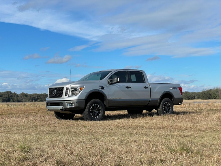 Used 2017 Nissan TITAN XD Crew Cab Platinum Reserve Pickup 4D 6 1/2 ft for sale Sold at Track & Field Motors in Safety Harbor FL 34695 3
