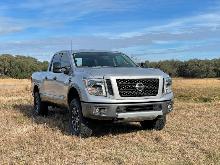 Used 2017 Nissan TITAN XD Crew Cab PRO-4X Pickup 4D 6 1/2 ft for sale $37,497 at Track and Field Motors in Safety Harbor FL 34695 1