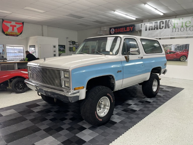 Used 1983 GMC Jimmy Sierra Classic for sale $19,997 at Track and Field Motors in Safety Harbor FL 34695 3