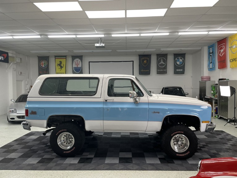 Used 1983 GMC Jimmy Sierra Classic for sale $19,997 at Track and Field Motors in Safety Harbor FL 34695 8