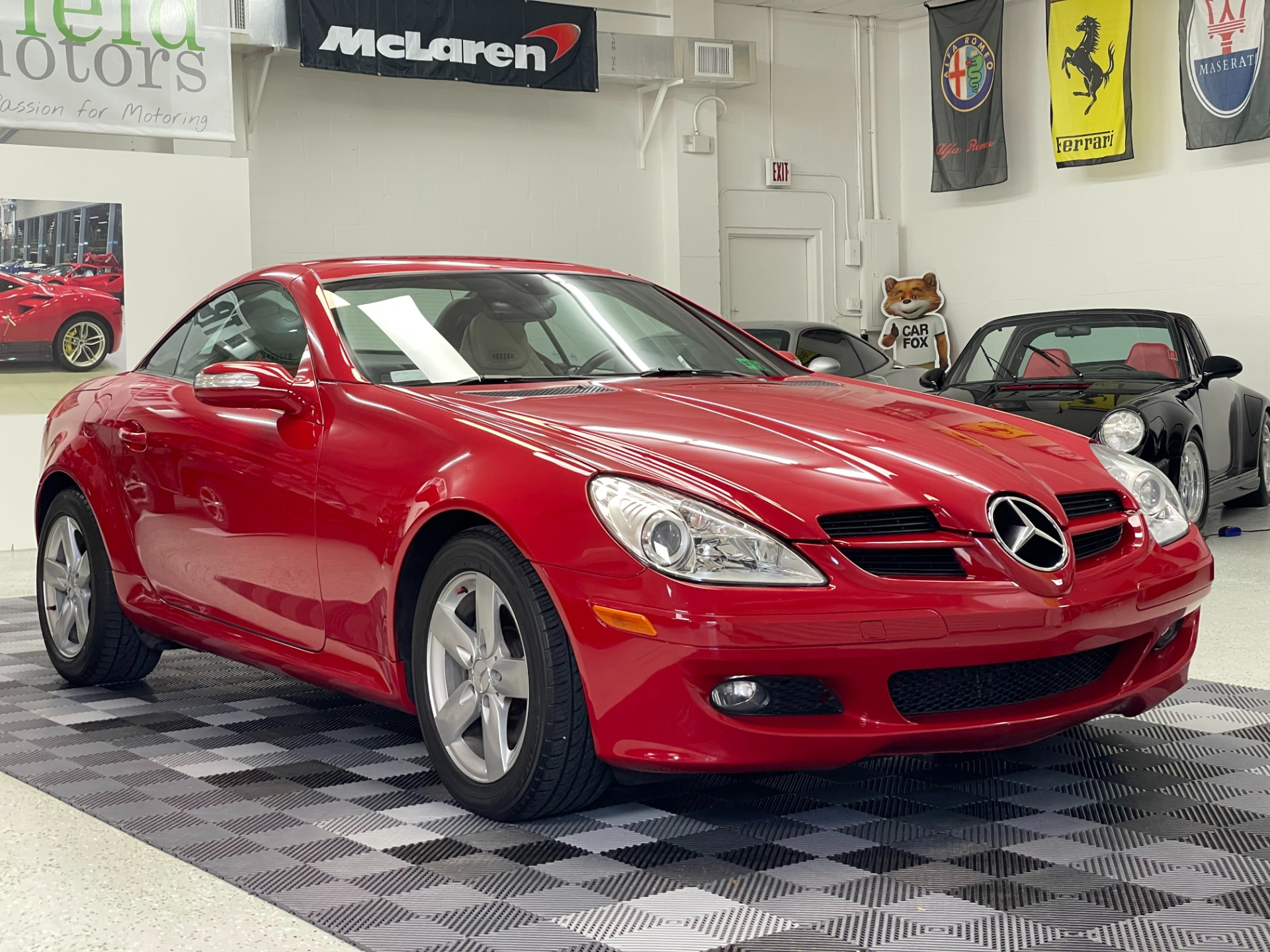 Used 2007 Mercedes-Benz SLK-Class SLK 280 Roadster 2D for sale $12,497 at Track and Field Motors in Safety Harbor FL