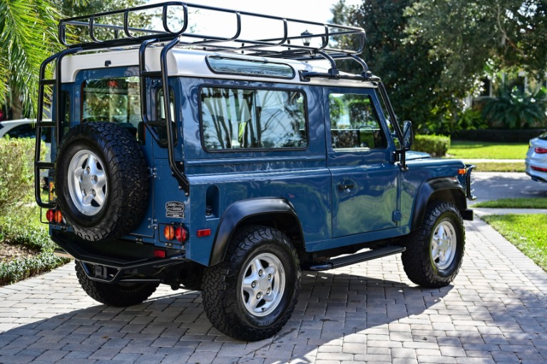 Used 1997 Land Rover Defender 90 Hard Top Sport Utility 2D for sale Sold at Track and Field Motors in Safety Harbor FL 34695 2