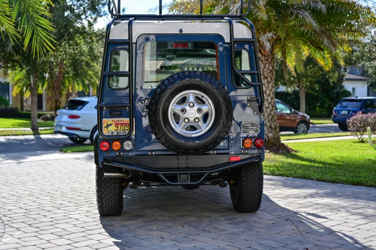 Used 1997 Land Rover Defender 90 Hard Top Sport Utility 2D for sale Sold at Track and Field Motors in Safety Harbor FL 34695 3
