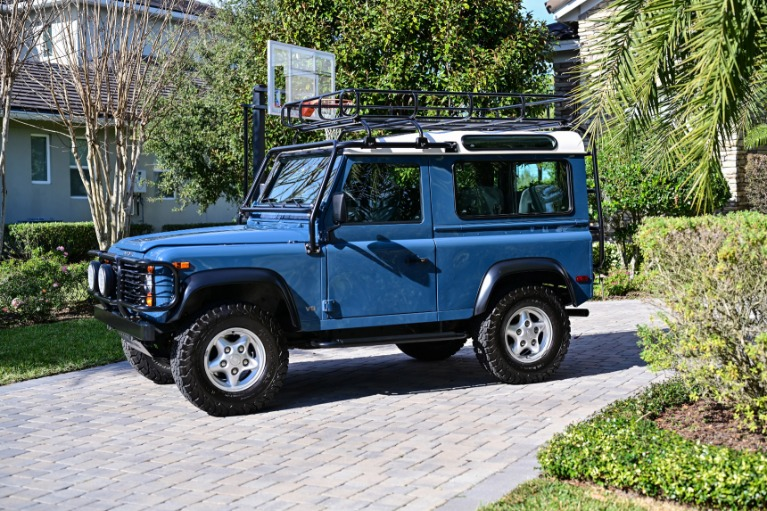 Used 1997 Land Rover Defender 90 Hard Top Sport Utility 2D for sale Sold at Track and Field Motors in Safety Harbor FL 34695 4