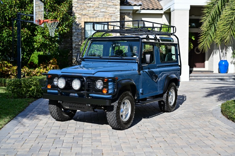 Used 1997 Land Rover Defender 90 Hard Top Sport Utility 2D for sale Sold at Track and Field Motors in Safety Harbor FL 34695 5