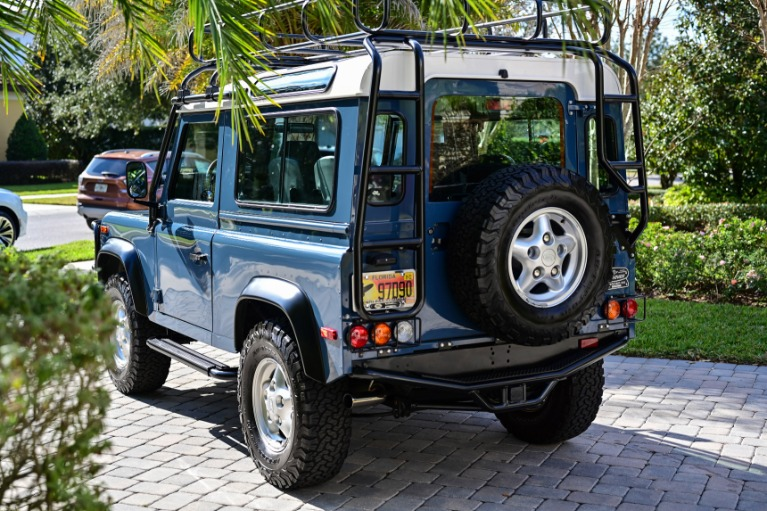 Used 1997 Land Rover Defender 90 Hard Top Sport Utility 2D for sale Sold at Track and Field Motors in Safety Harbor FL 34695 6