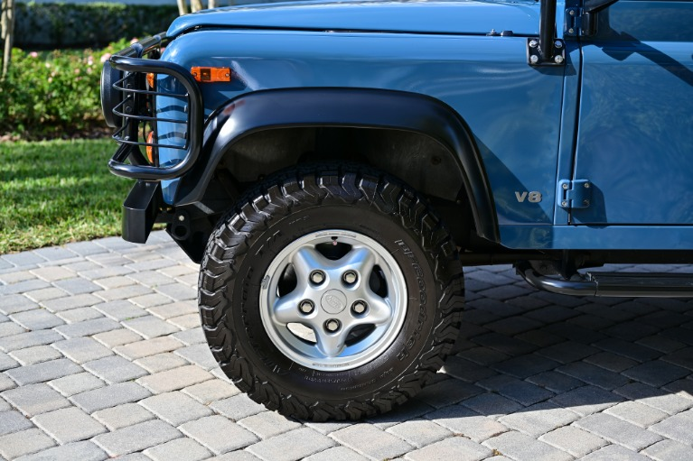 Used 1997 Land Rover Defender 90 Hard Top Sport Utility 2D for sale Sold at Track and Field Motors in Safety Harbor FL 34695 7