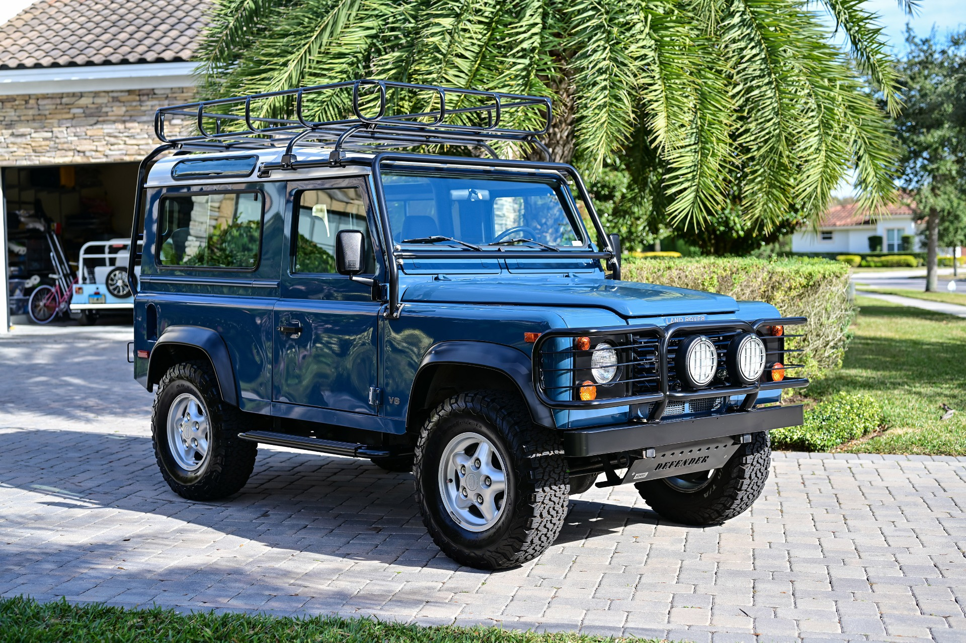 Used 1997 Land Rover Defender 90 Hard Top Sport Utility 2D for sale Sold at Track and Field Motors in Safety Harbor FL 34695 1