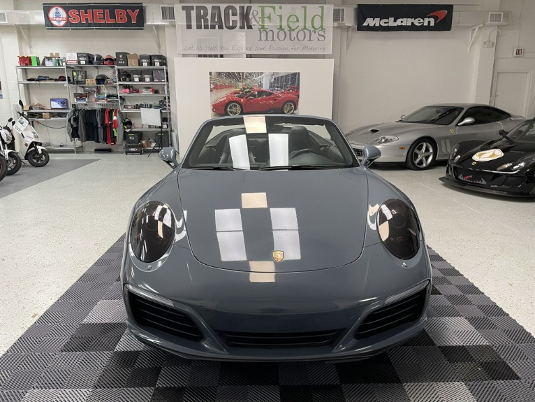 Used 2017 Porsche 911 Carrera S Cabriolet 2D for sale $79,997 at Track and Field Motors in Safety Harbor FL 34695 3