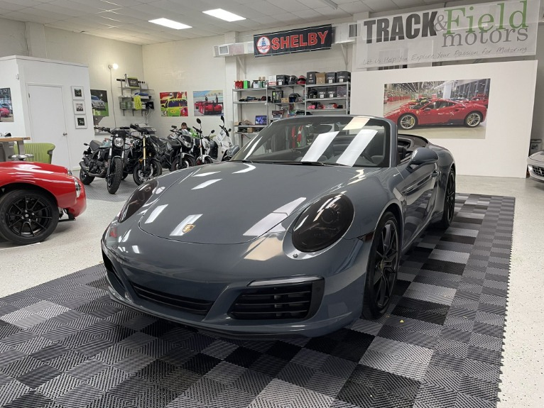 Used 2017 Porsche 911 Carrera S Cabriolet 2D for sale $79,997 at Track and Field Motors in Safety Harbor FL 34695 4