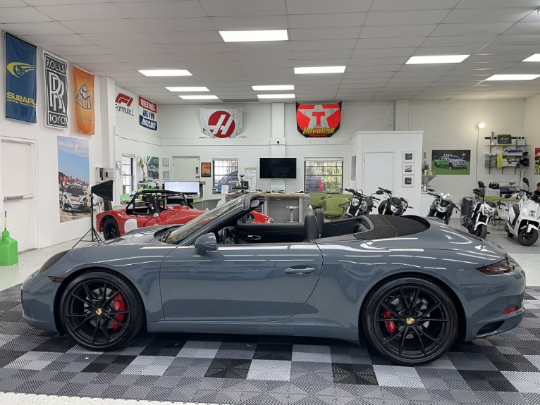 Used 2017 Porsche 911 Carrera S Cabriolet 2D for sale $79,997 at Track and Field Motors in Safety Harbor FL 34695 5
