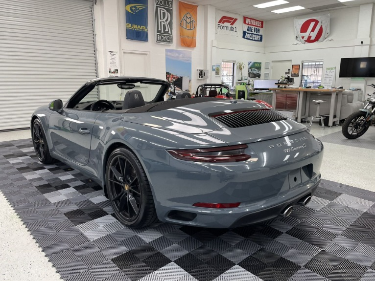 Used 2017 Porsche 911 Carrera S Cabriolet 2D for sale $79,997 at Track and Field Motors in Safety Harbor FL 34695 6