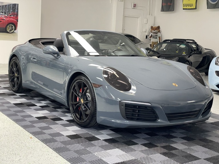 Used 2017 Porsche 911 Carrera S Cabriolet 2D for sale $79,997 at Track and Field Motors in Safety Harbor FL 34695 1
