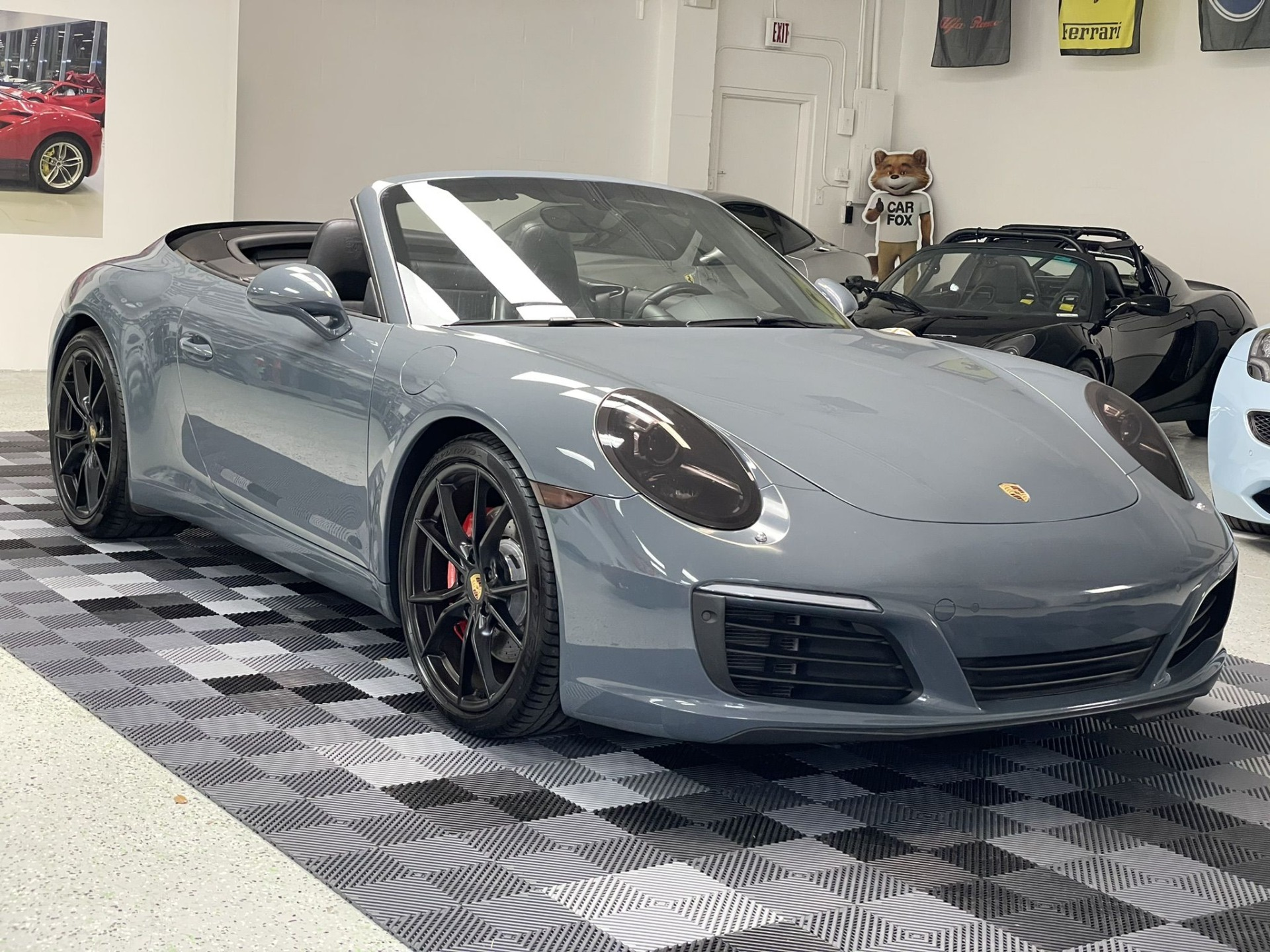 Used 2017 Porsche 911 Carrera S Cabriolet 2D for sale $79,997 at Track and Field Motors in Safety Harbor FL